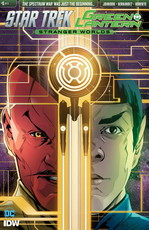 Star Trek Green Lantern Vol 2  5