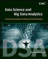 Data Science and Big Data Analytics PDF