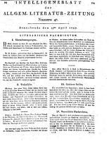 Intelligenzblatt der Allgemeinen Literatur Zeitung vom Jahre 1797 PDF