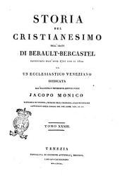 Storia del cristianesimo continuata dall'anno 1721 sino al 1800 da un ecclesiastico veneziano dell'abate di Berault-Bercastel: Volume 33