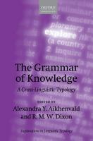 The Grammar of Knowledge PDF