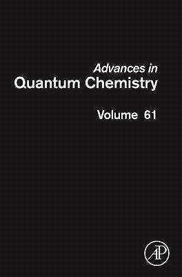Advances in Quantum Chemistry PDF