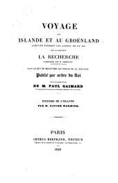 Histoire De L'Islande: Volume 1