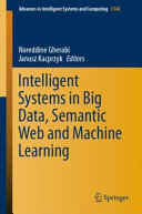 Intelligent Systems in Big Data  Semantic Web and Machine Learning PDF