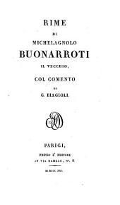 Rime, col comento di G. Biagioli