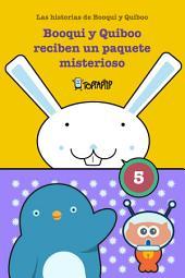 Booqui y Quiboo reciben un paquete misterioso: Las histórias de Booqui y Quiboo para tus primeras lecturas