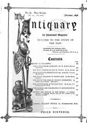 The Antiquary: Volume 32