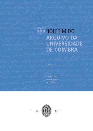 Boletim do Arquivo da Universidade de Coimbra XXX