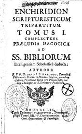 Enchiridion Scripturisticum triparti