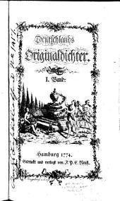 Deutschlands Originaldichter: Band 1