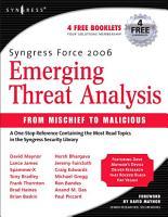 Syngress Force Emerging Threat Analysis PDF