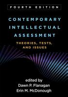 Contemporary Intellectual Assessment  Fourth Edition PDF