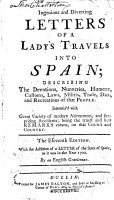 Ingenious and diverting letters of a lady s travels into Spain     The eleventh edition  etc   By Marie Catherine La Mothe   PDF