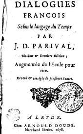 DIALOGUES FRANCOIS: Selon de langage du Temps