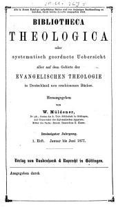 Bibliotheca theologica0 PDF