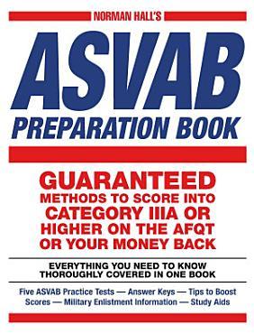 Norman Hall s Asvab Preparation Book PDF