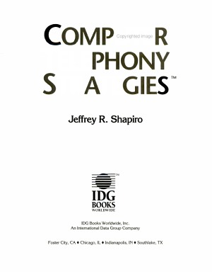 Computer Telephony Strategies PDF