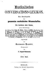 Musikalisches conversations-lexikon: Eine encyklopädie der gesammten musikalischen wissenschaften für gebildete aller stände, Band 11