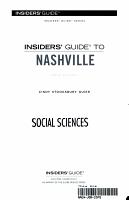 Insiders  Guide to Nashville PDF