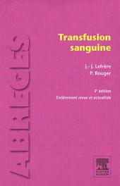 Transfusion sanguine: Édition 5