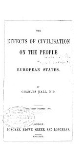 The Effects of Civilization on the People in European States