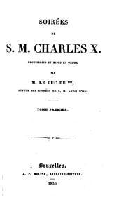 Soirées de S. M. Charles X.