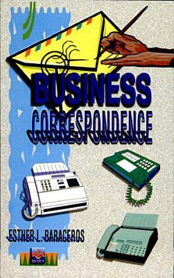 Business Correspondence 2000 Ed  PDF