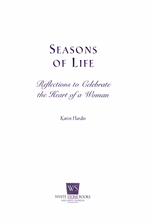 Seasons of Life for Women PDF