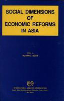 Social Dimensions of Economic Reforms in Asia PDF