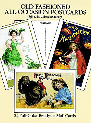 Old Fashioned All Occasion Postcards