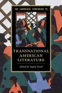 The Cambridge Companion to Transnational American Literature PDF