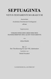 Septuaginta: Vetus Testamentum Graecum. Supplementum