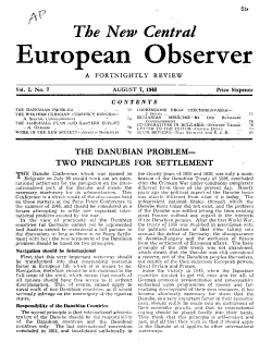The New Central European Observer PDF