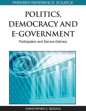 Politics  Democracy and E Government  Participation and Service Delivery