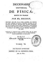 Diccionario universal de Física: Volumen 6