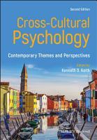 Cross Cultural Psychology PDF