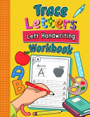 Trace Letters Left Handwriting Workbook