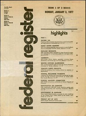 Federal Register