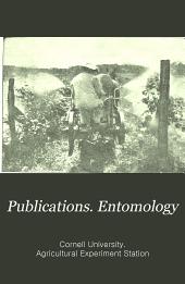 Publications. Entomology: Volume 5