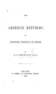 The American Republic Book