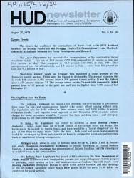 HUD Newsletter PDF