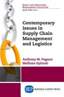 Contemporary Issues in Supply Chain Management and Logistics PDF