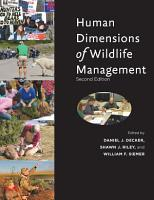 Human Dimensions of Wildlife Management PDF