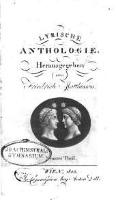 Lyrische Anthologie: Bände 9-10