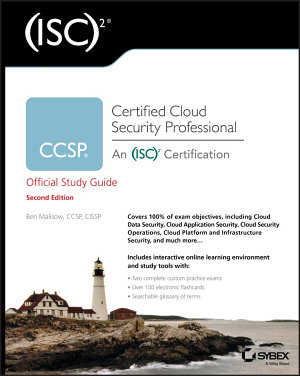 ISC 2 CCSP Certified Cloud Security Professional Official Study Guide PDF