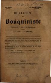 Bulletin du bouquiniste: Volume 10, Issue 218