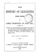 The history of Leicester. Index. Pocket ed