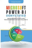 Microsoft Power BI Demystified