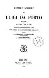 Lettere storiche di Luigi da Porto, Vicentino, dall'anno 1509 al 1528