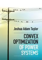 Convex Optimization of Power Systems PDF
